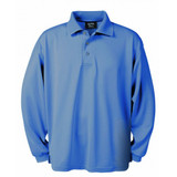 Aqua Dry Long Sleeve Pique Polo