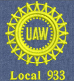 UAW-933-01 UAW One Color Version