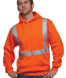 Hi-Visibility Hooded Pullover Fleece