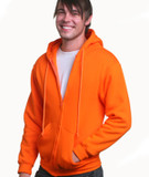 Hooded Full Zipper Fleece