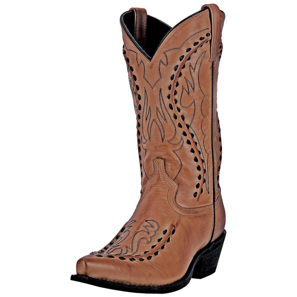 21f5d3e7c22 Men's Laredo Laramie Snip Toe Western Boots 68432