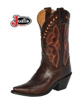 Women's Justin  L4301 Testa Torino Brown