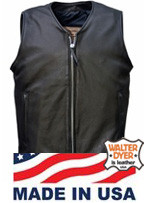 Men's Walter Dyer #74 Zippered Front Vest
