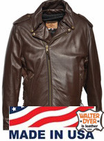 Walter Dyer Men's Rebel Brown Size 48