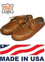 Women's Walter Dyer Moccasin 2 Eyelet  Size 8