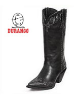 Crush by Durango Black/Grey Scroll Western RD 3200