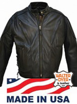 Walter Dyer Morrison for Men Black Leather 507V