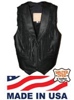Ladies' Fringe Vest WD 61F
