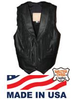 Ladies' Fringe Vest WD 61F