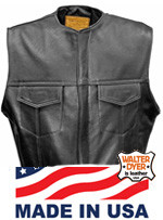 Men's Club Vest no Collar