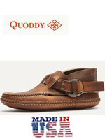 Men's Quoddy Classic Double Sole Chromepak Ring Moccasin