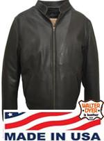Walter Dyer Mens'  630 Dress Casual Jacket in Black