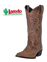 Ladies' Laredo Cross Point 52033 Brown Rust
