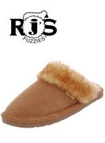 Ladies' RJ'S Scuff Sheepskin Slipper RJS 100