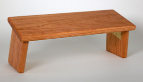 Cherry Folding Meditation Bench