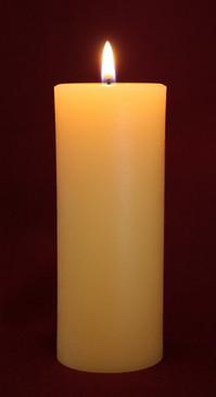 """Beeswax Pillar Candle 2"""" x 4.5"""""""