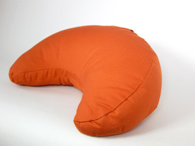 Sweet Potato Organic Cotton, Crescent Cushion