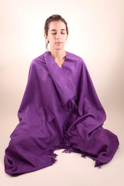 Purple Shawl