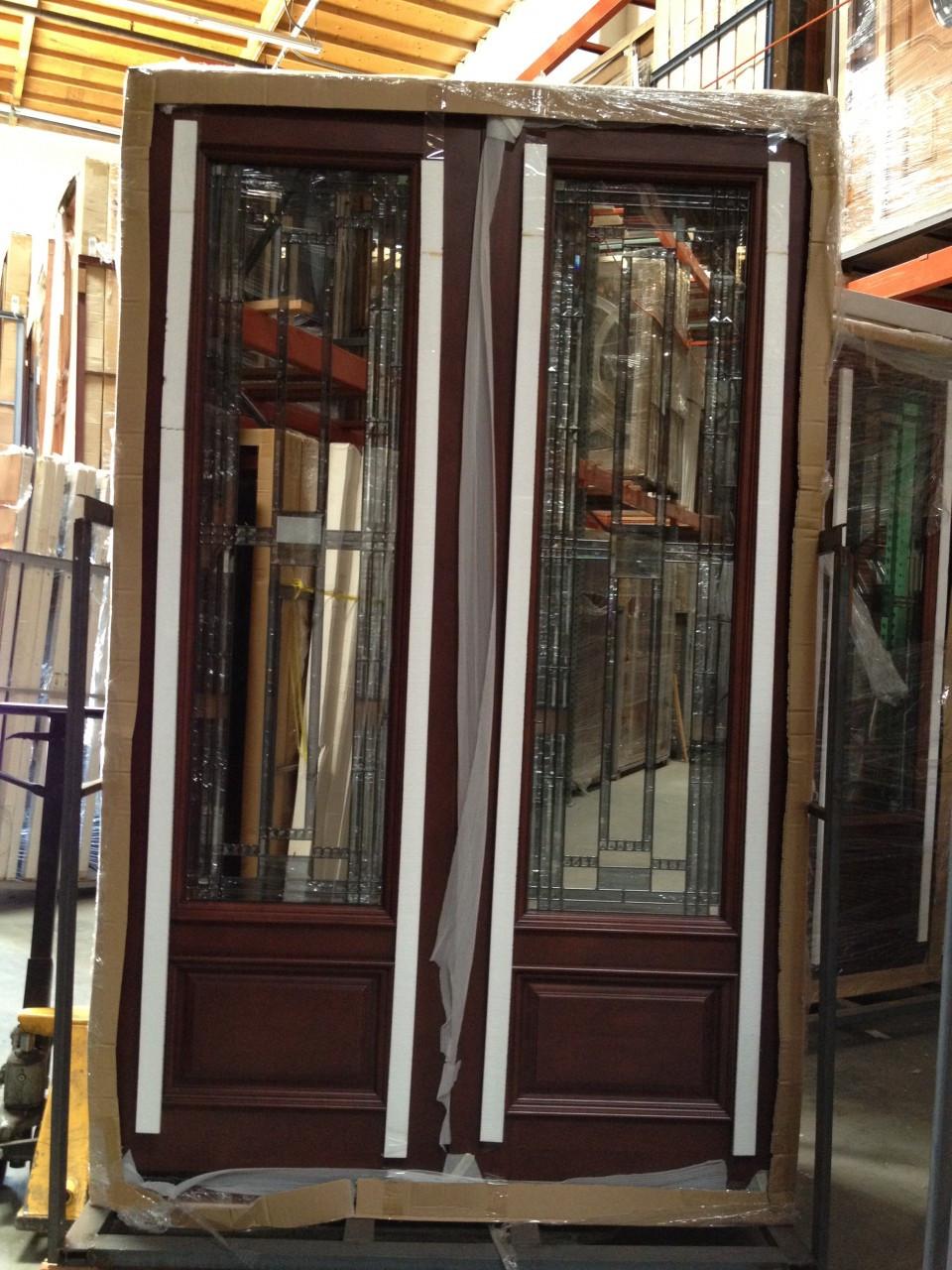 Discount Door Center, Solid Wood Entry Doors, Exterior