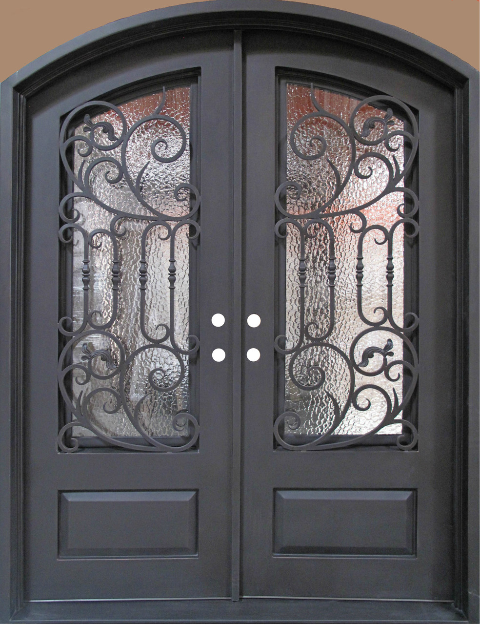Wrought Iron Door Doors W Iron Works Oper Able Glass