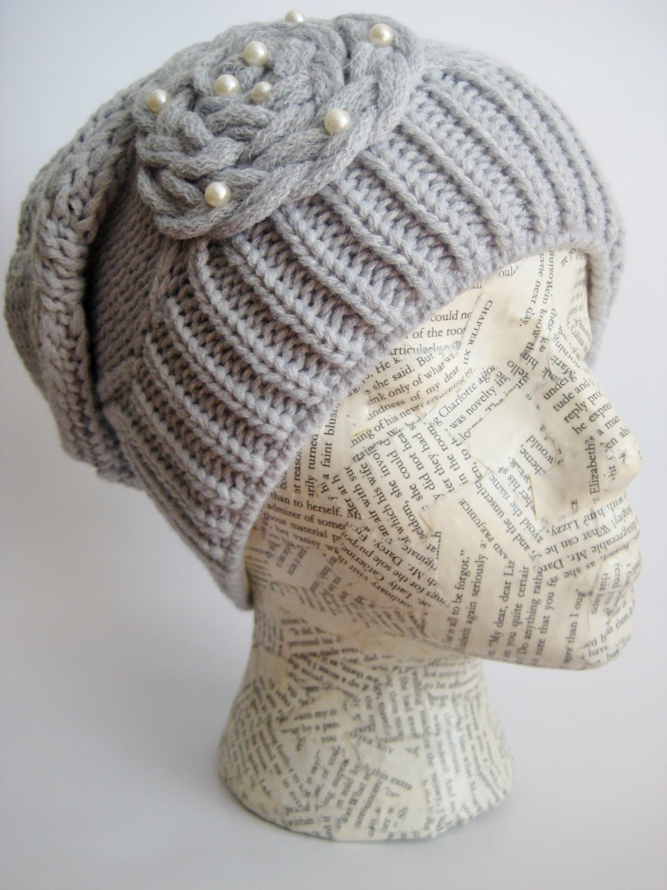 edefae37196 Womans Winter Slouchy Beanie M-113. Winter beanie hat. Loading zoom