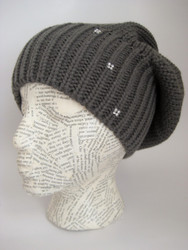 Winter beret hat for women