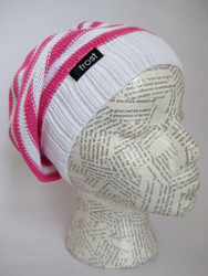 Slouchy spring beret for women