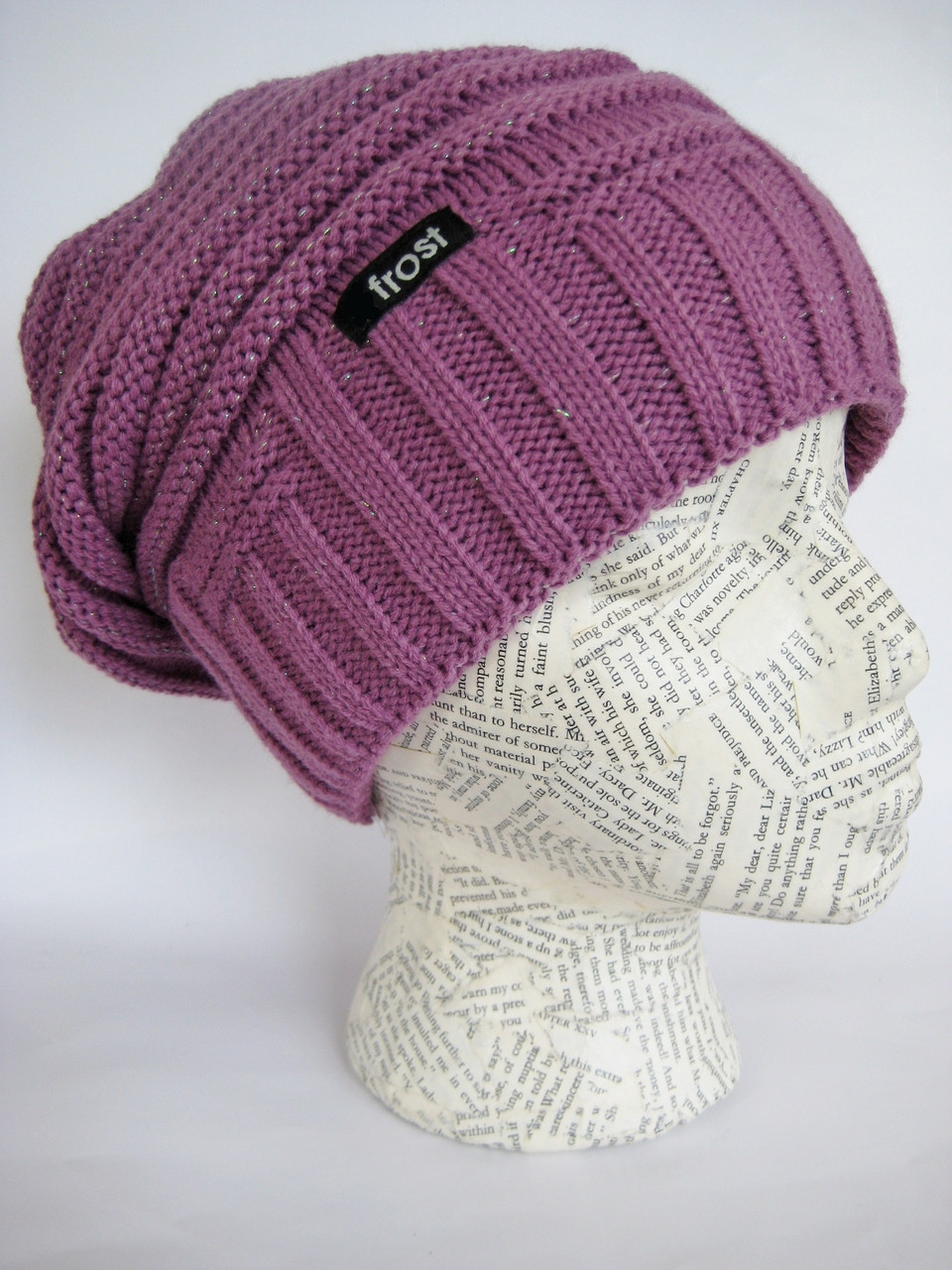 Thick Slouchy Winter Hat. Slouchy beret hat for women. Loading zoom 172fbff1d29b