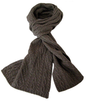 Wool cashmere scarf for women