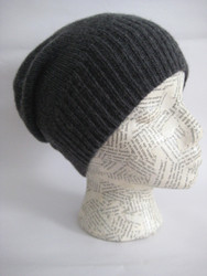 Slouchy cashmere hats for women