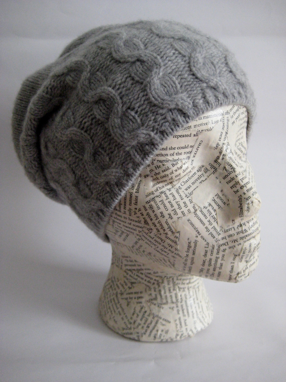 aa3b89dd082 Slouchy cashmere hat for women. Loading zoom
