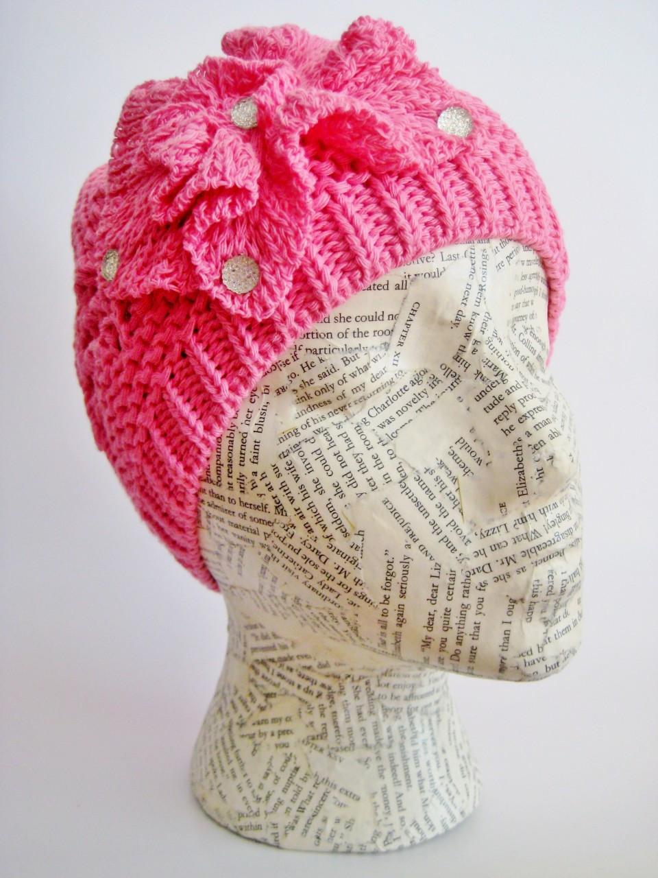 Spring crochet beanie. Loading zoom. Spring crochet beanie aee9c5cf27e