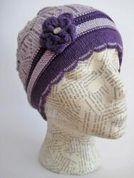 Spring crochet hat