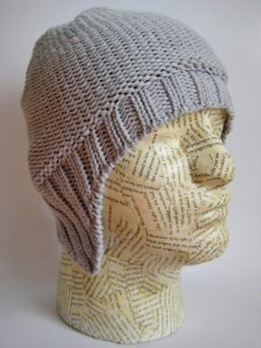 Aviator beanie hat for men