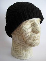 Thick beanie hat