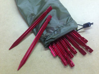 Aluminum Tent Stakes (Set of 10)