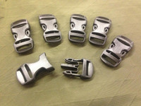 3/4 inch buckle set of 6