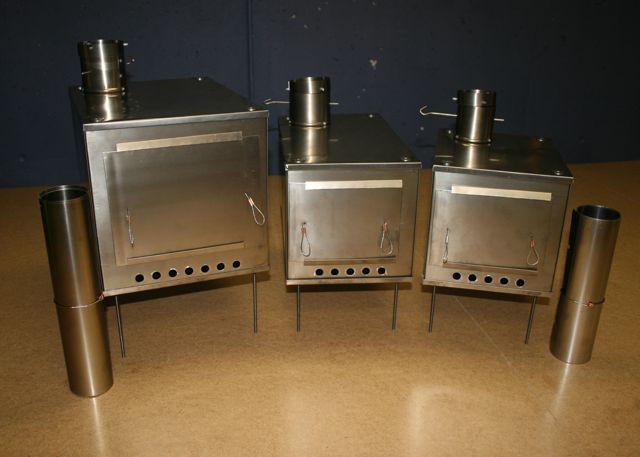 Titanium Wood Stoves