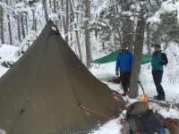 8 Man Tipi Hot Tent