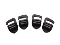 Bachelor Buckles Set of 4
