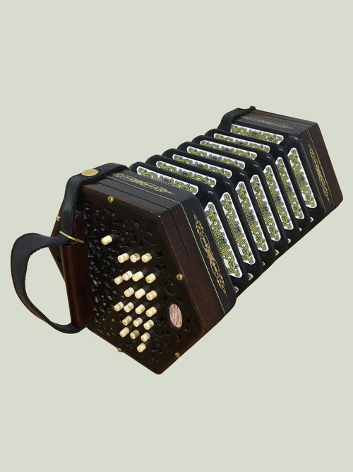 Lachenal Concertina with Rosewood Ends