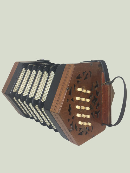 Lachenal Concertina (Light Wood)