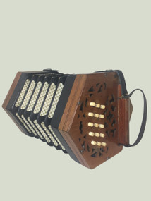 Lachenal Concertina (Light Wood)