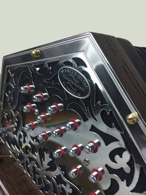New Marcus Anglo Concertina