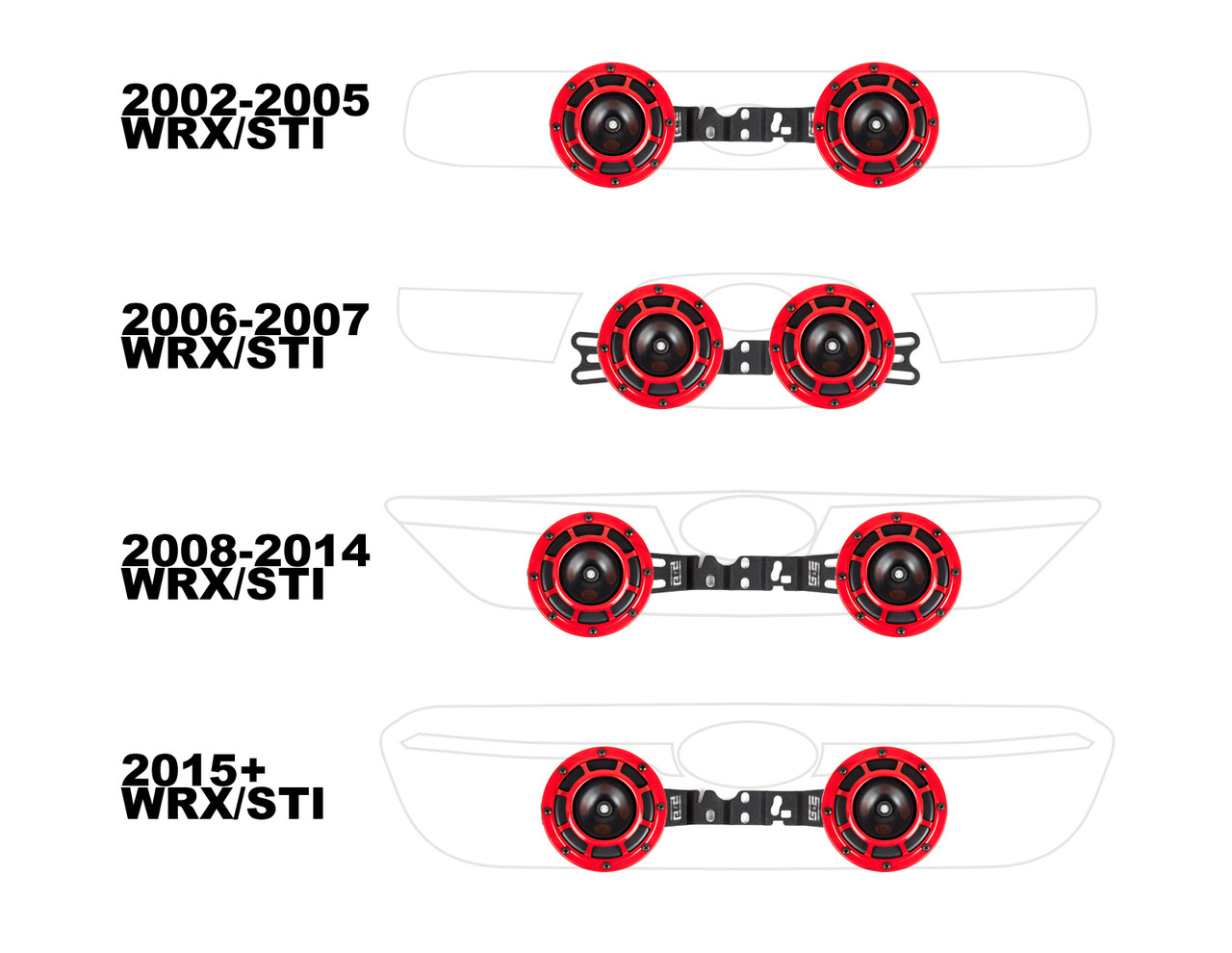 Grimmspeed Brotie Mounting Bracket For Hella Horns 02 15 Wrx Sti 05 Grand Am Horn Wiring Harness Group Buy Nasioc