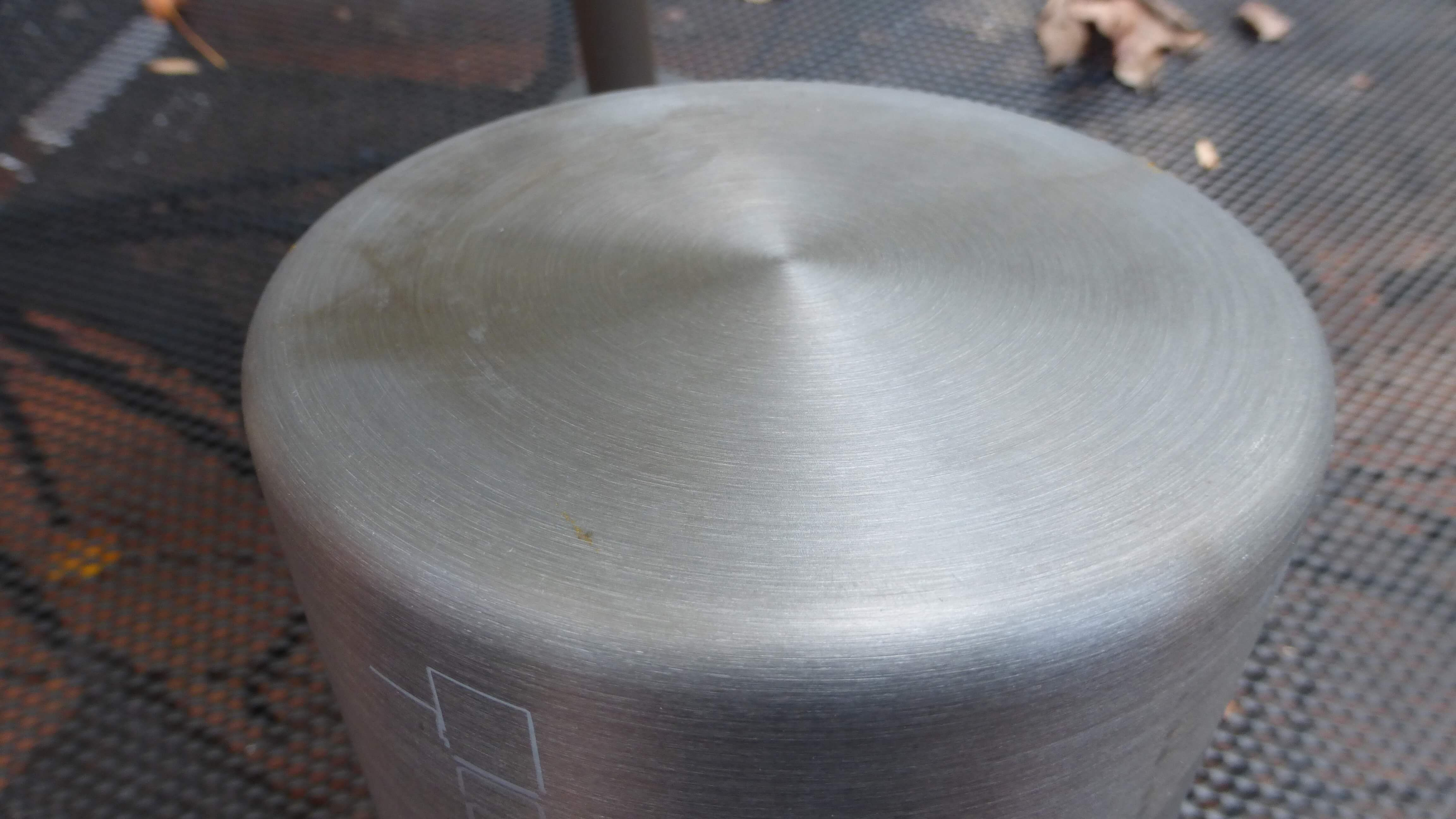 bottom surface cookpot