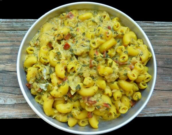 Cooked Vegan Cheddar Mac Outdoor Herbivore