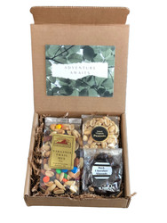9 oz. Virginia Trail Mix 4 oz. salted Virginia peanuts 4 oz. dark chocolate almonds