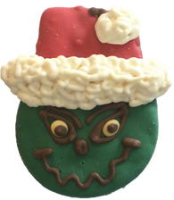 Green Mean Santa Man (Case of 18 treats) NEW !!!