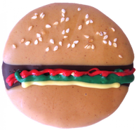 Hamburger (Case of 18 treats)